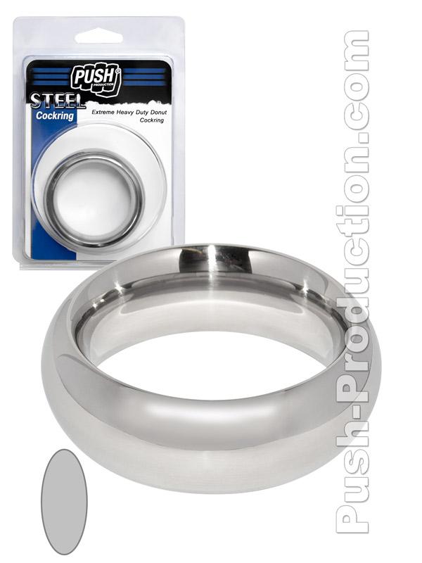Pierścień erekcyjny Push Steel - Extreme Heavy Duty