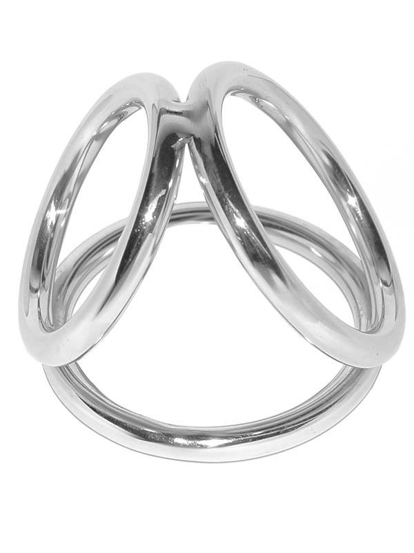 Pierścień na jądra Round Triple - średni