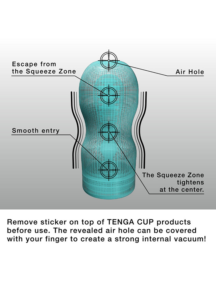 Masturbator Tenga - Air Cushion