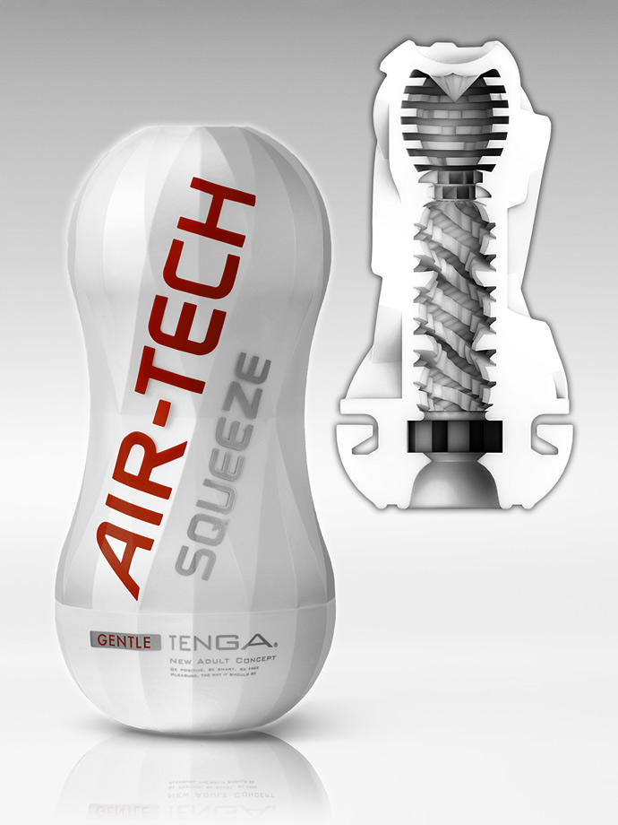 Masturbator ssący Tenga - Air-Tech Squeeze - Gentle