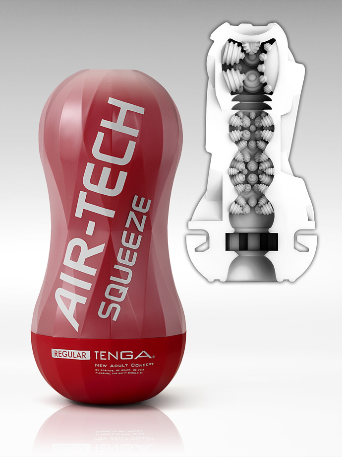 Masturbator ssący Tenga - Air-Tech Squeeze - Regular
