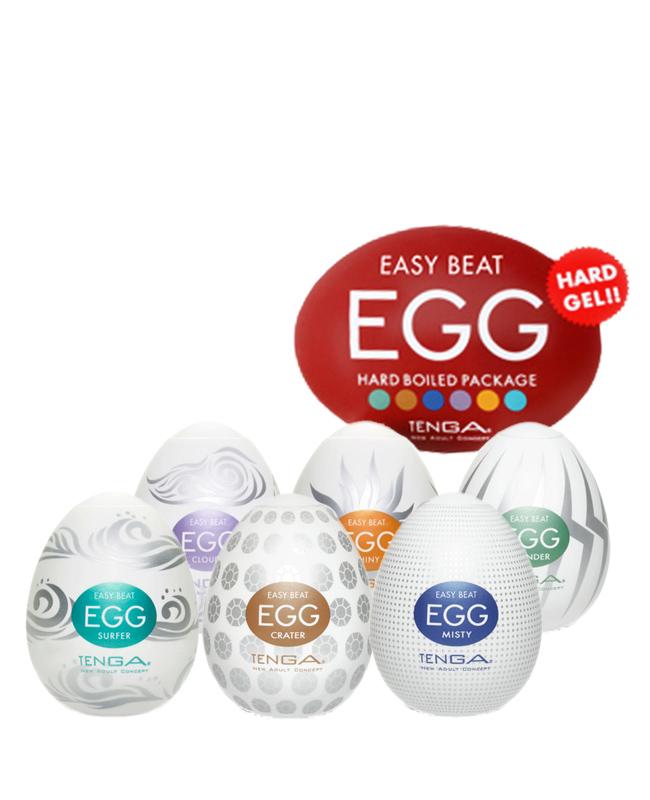Masturbatory jajka Tenga - zestaw Hard Boiled Egg