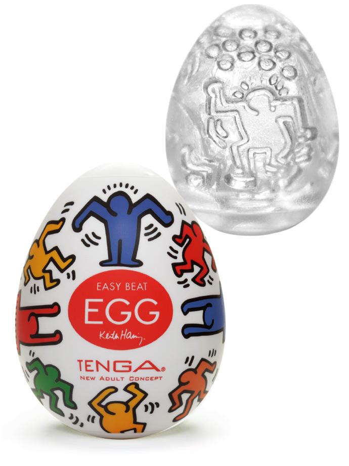Masturbator Tenga - Egg Dance - Keith Haring