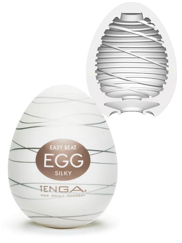 Masturbatory Tenga - zestaw jajek