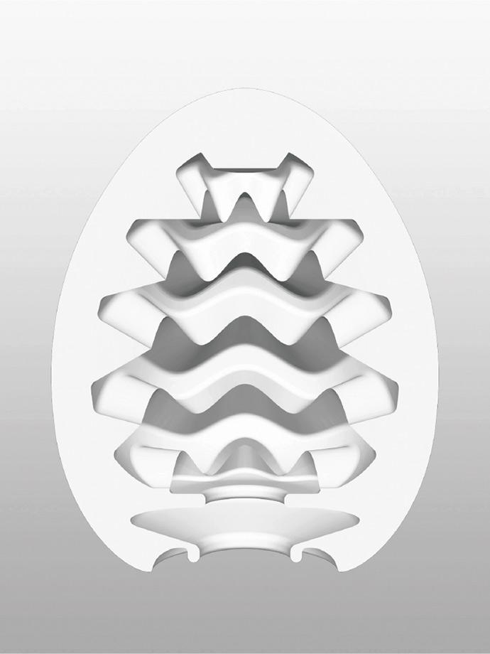 Masturbator Tenga - jajko Wavy - Special Cool Edition