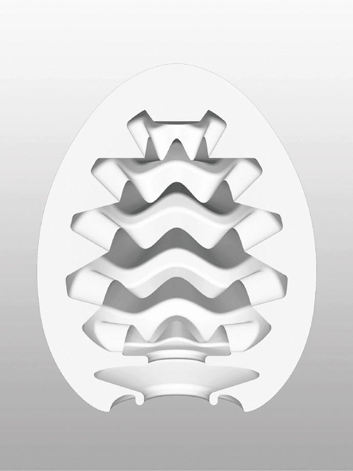 Masturbator Tenga - jajko Wavy