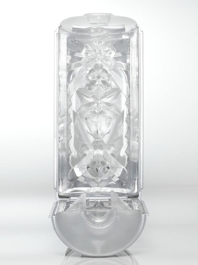 Masturbator Tenga - Flip Hole - srebrny
