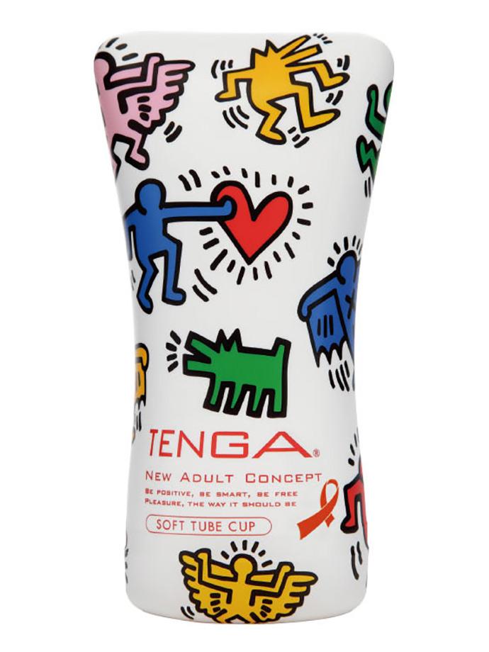 Masturbator próżniowy Tenga - Soft Tube - Keith Haring
