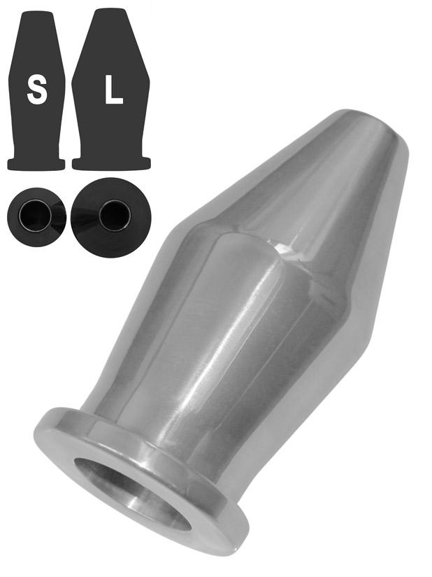 Tunel analny - Aluminium - duży