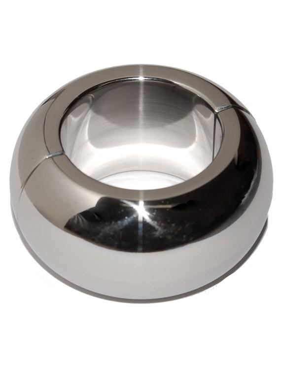 Obręcz na jądra - stal nierdzewna/owalna - 30 x 35mm