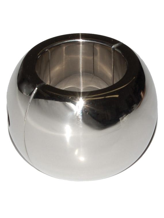 Obręcz na jądra - stal nierdzewna/owalna - 40 x 35mm