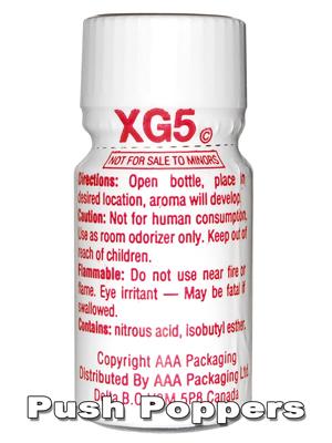 Poppers XG5 AROMA - mały