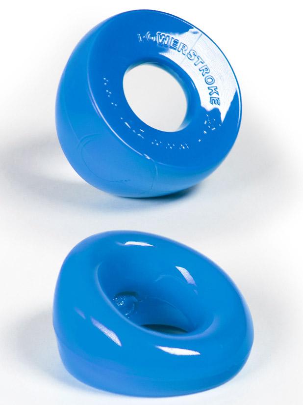 Pierścień erekcyjny ZIZI Powerstroke - niebieski