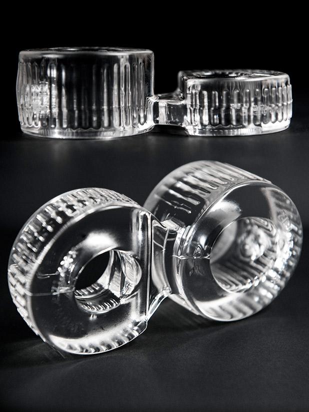 ZIZI Trainer pierścień na jądra - przejrzysty