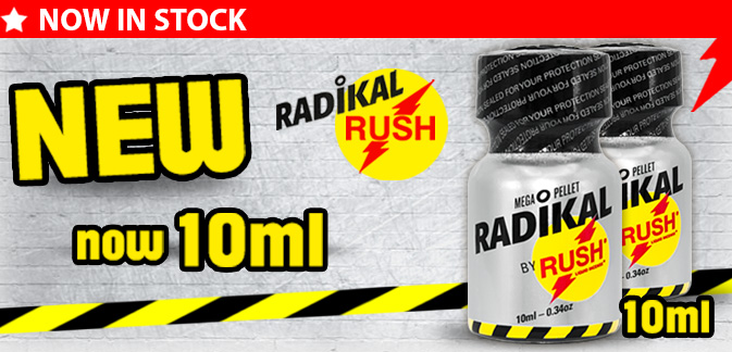 Poppers Radikal Rush Small